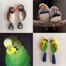 Image 1 of Your Pet Bird - custom made earrings