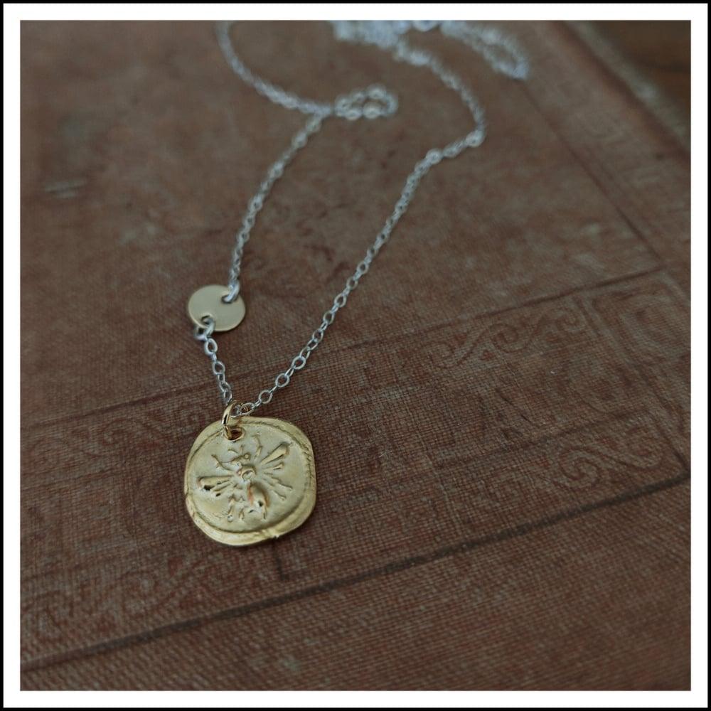 Image of Queen Bee necklace