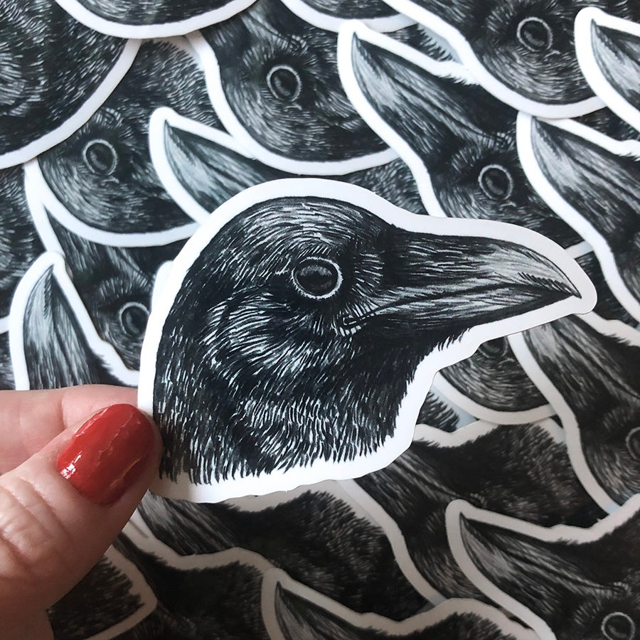 Image of Raven Sticker