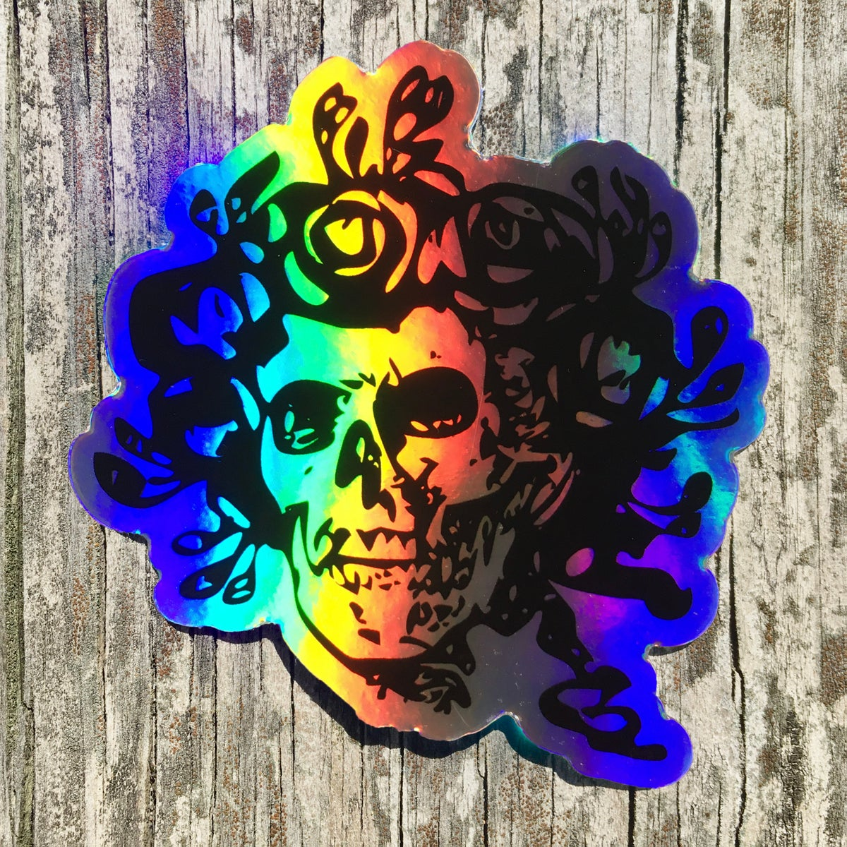 Holographic Bertha Sticker (2-pack)