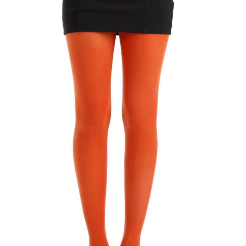 Rust Opaque Tights with Free Postage