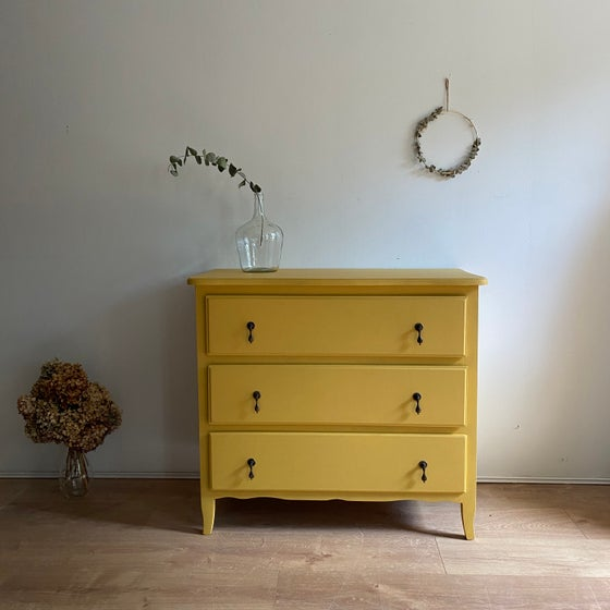 Image of Commode Jaune #116
