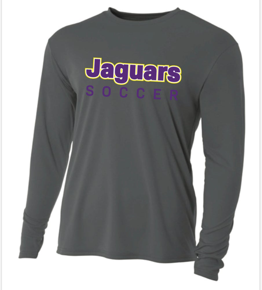 Image of JAGUARS SOCCER - A4 Performance Long Sleeve