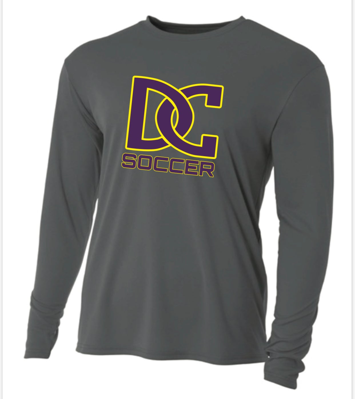 Image of DC SOCCER - A4 Performance Long Sleeve