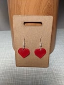 Image 3 of Laser cut Perspex earrings