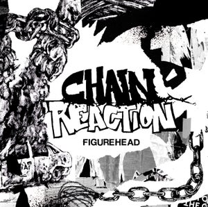 "Image of CHAIN REACTION Figurehead 12"" EP - BLACK"