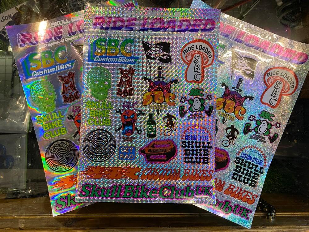Image of A4 Sticker Sheets