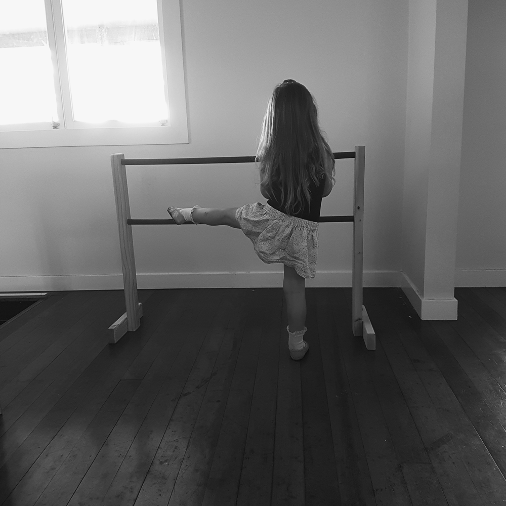 Image of Wooden Ballet Barre