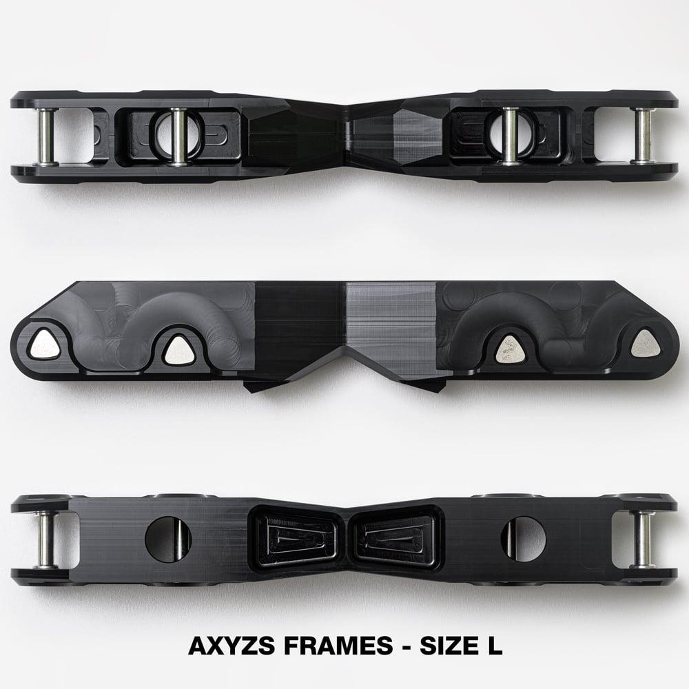 AxyzS Flat Frames - black