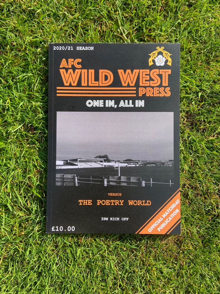 Image of One In, All In - Football Poetry Anthology