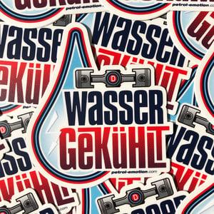 "Image of Wassergekühlt ""Water-Cooled"" Sticker"