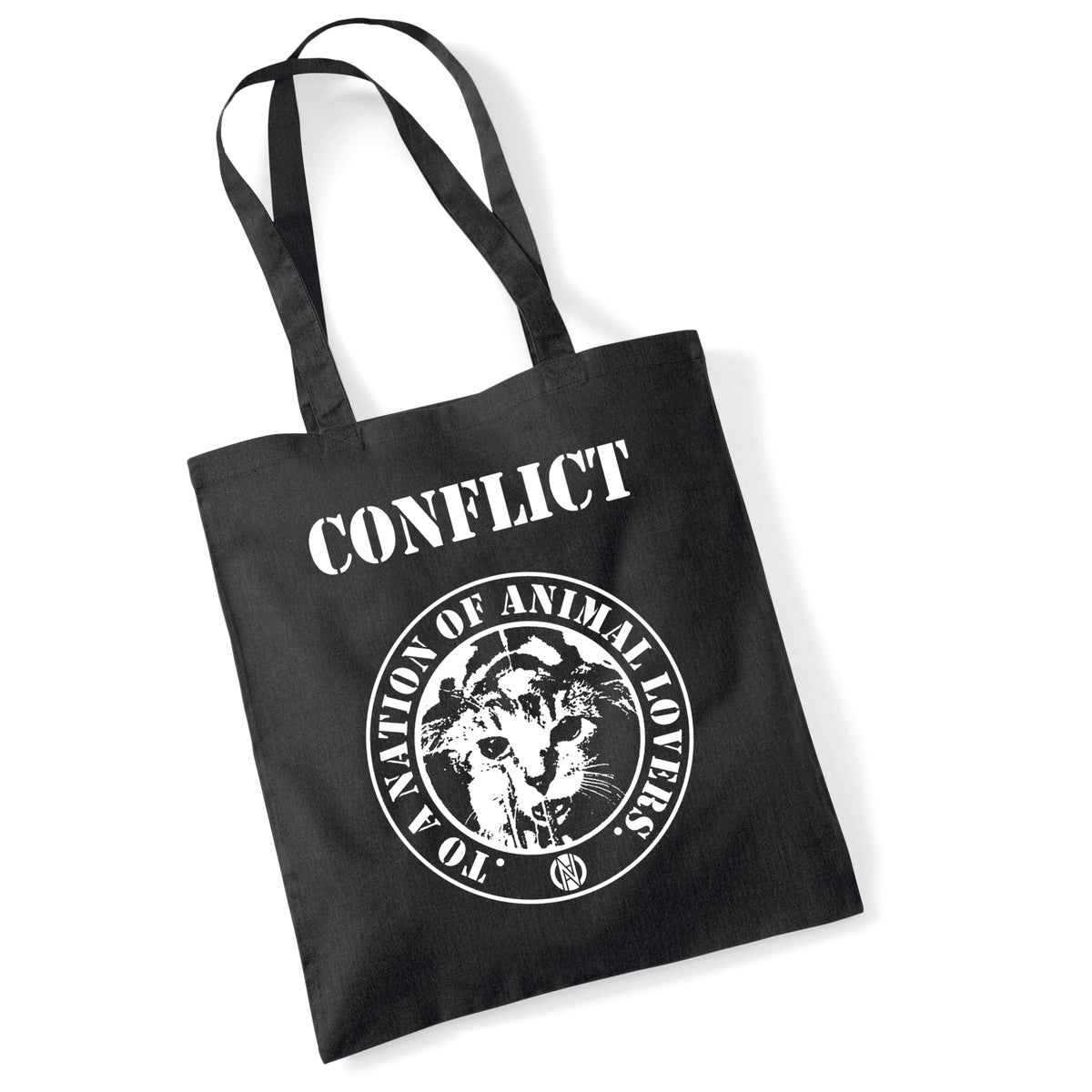 Image of CONFLICT Nation of Animal Lovers tote bag