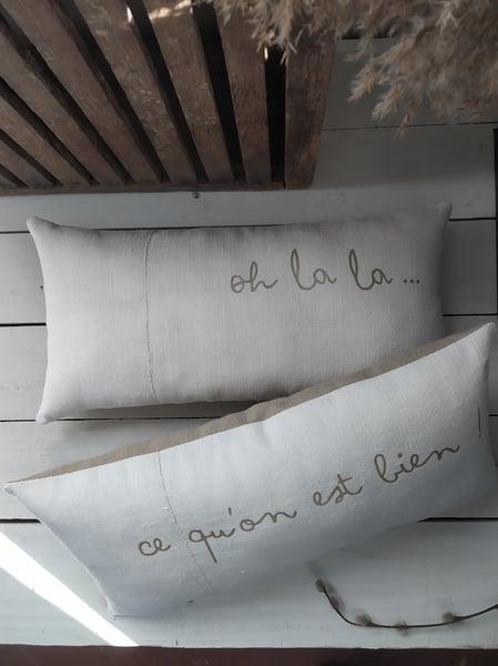 Image of Duo de coussins