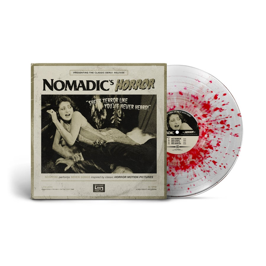 "Image of HORROR Vinyl - ""Blood"""