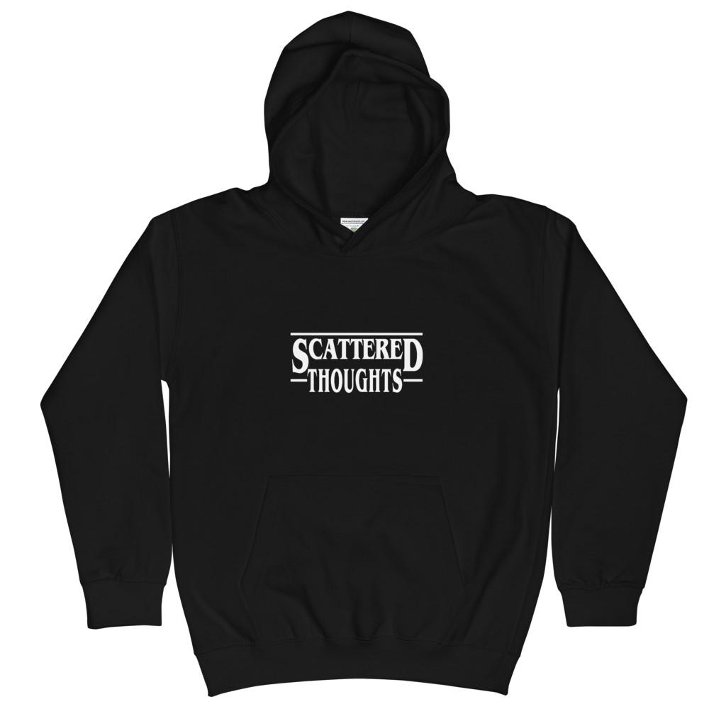 """Kids """"Scattered Thoughts"""" Hoodies"""