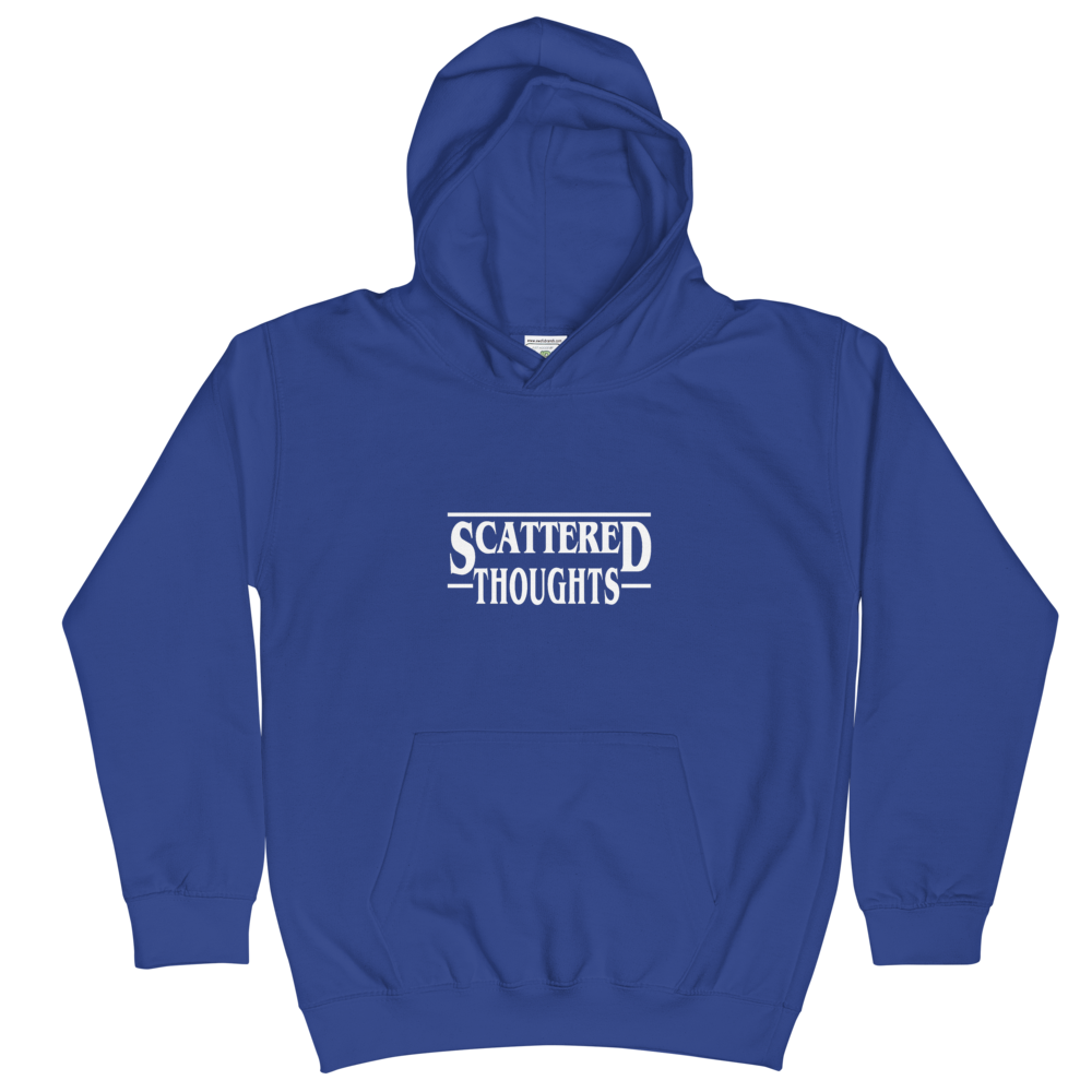 """Image of Kids """"Scattered Thoughts"""" Hoodies"""