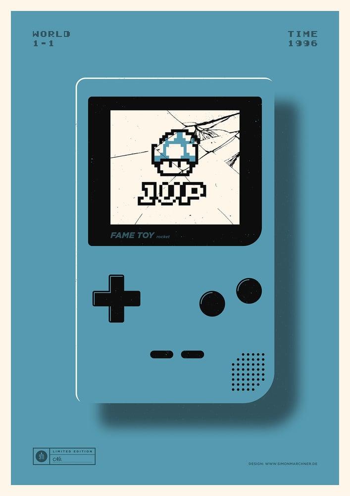 Image of 1UP Blue Version