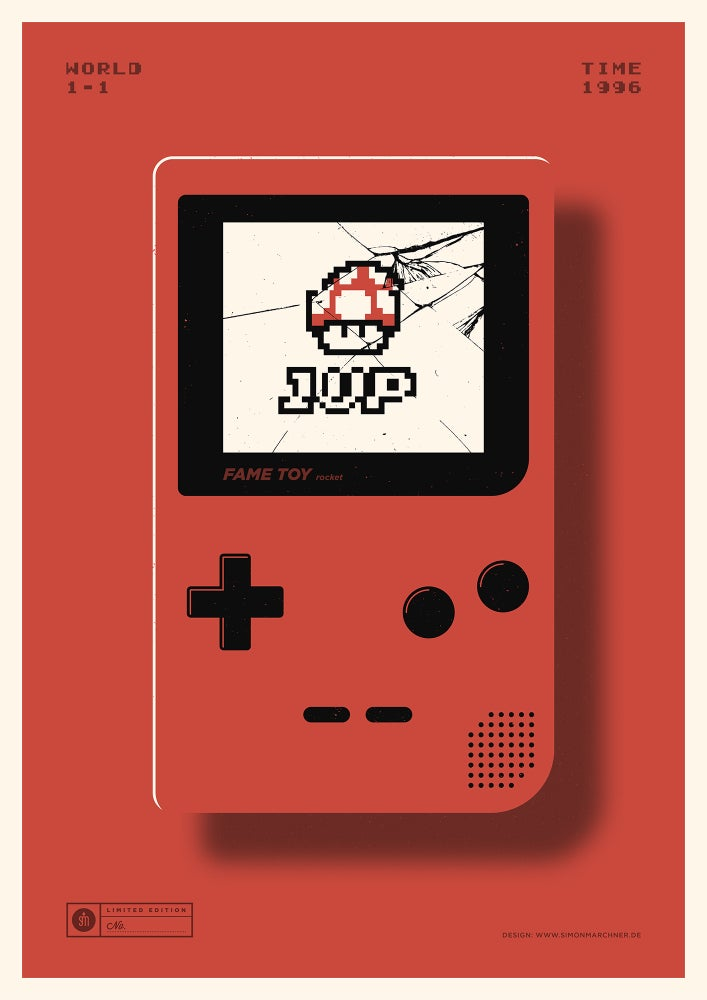 Image of 1UP Red Version