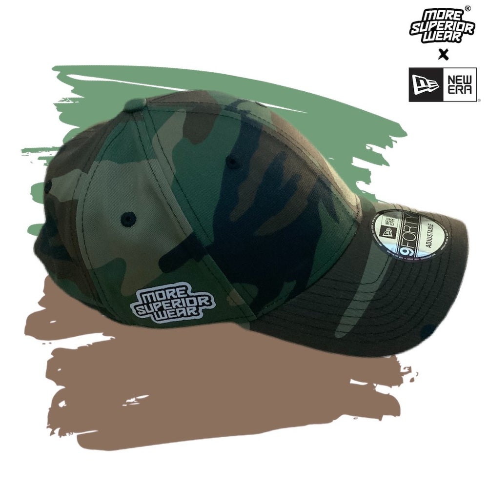 Army camo MSW x New Era cap