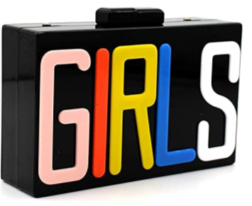 Image of GIRLS , GIRLS, GIRLS (Black)