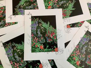 Image of [PREORDER] Eddie Flower Bed Print