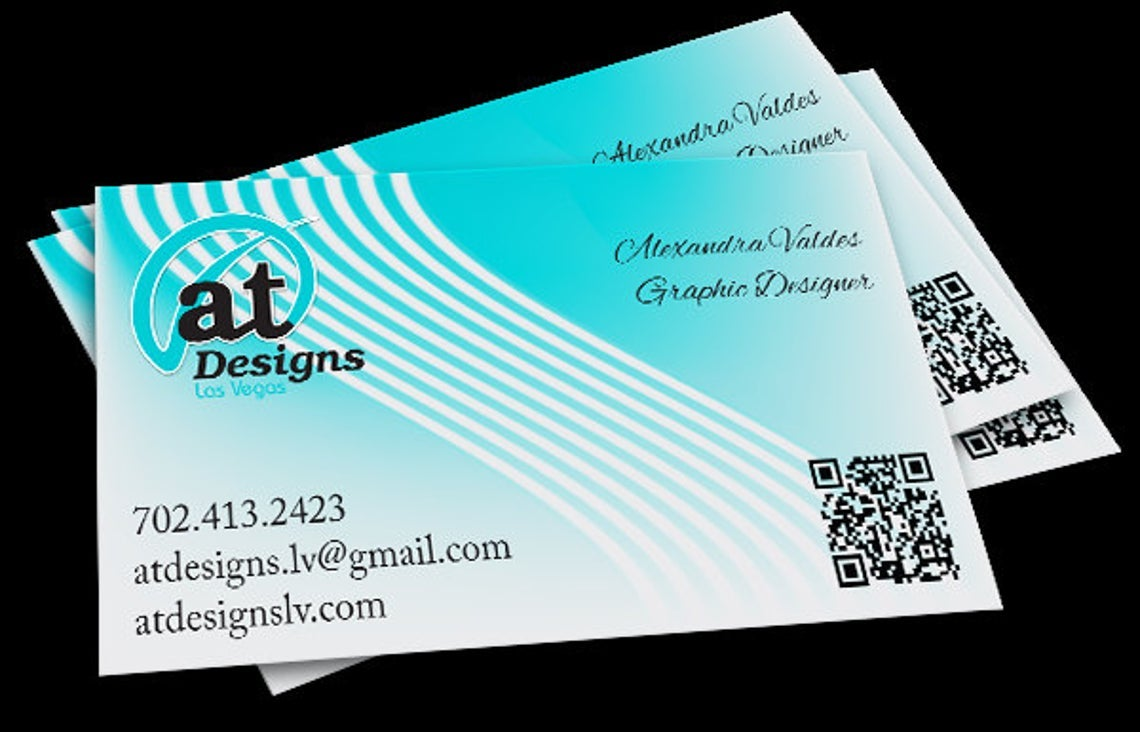 Image of Business Card Design One Sided