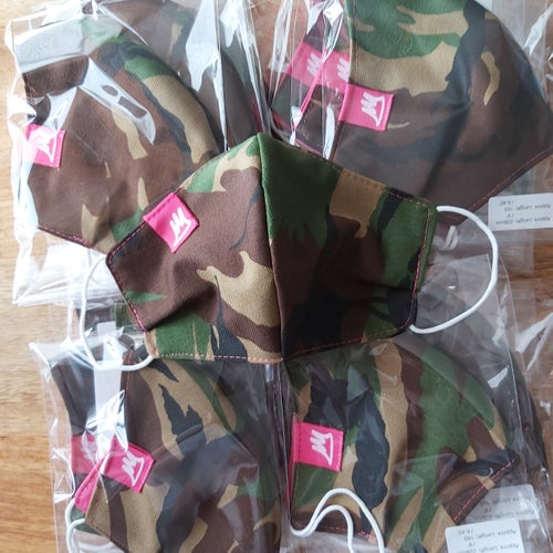 Image of Original Camo Face Masks