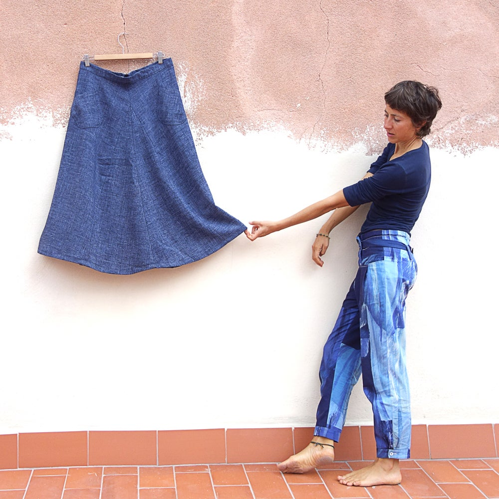 Image of WOOL SKIRT