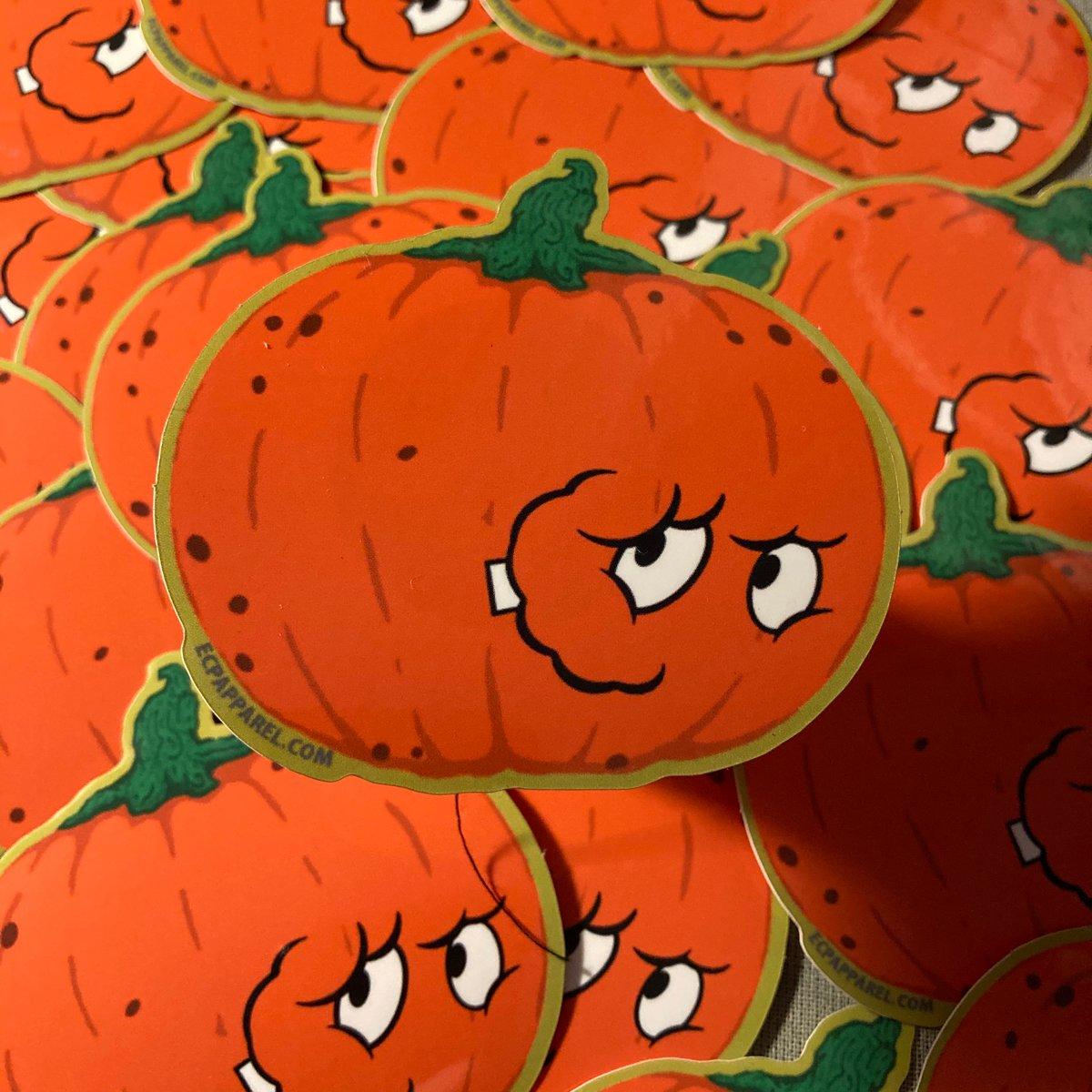 """""""Pumpkin Wad"""" Die- Cut Sticker"""