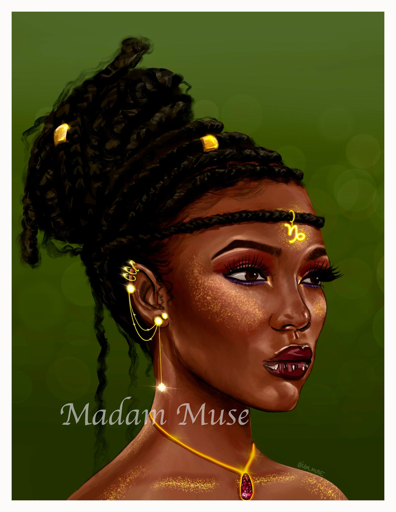 """Image of """"Queen Capricorn"""" Limited Edition Prints"""