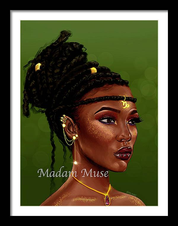 """Image of """"Queen Capricorn"""" Open Edition Prints"""