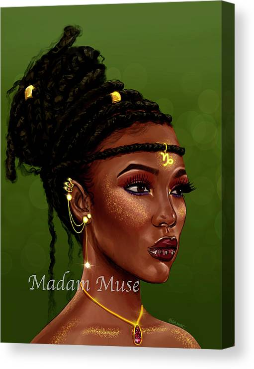 "Image of ""Queen Capricorn"" Limited Edition Canvas Prints"