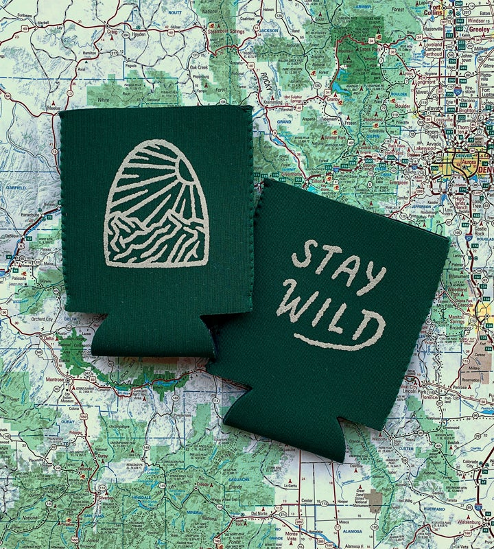 Image of Stay Wild Koozie