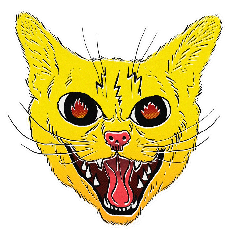 Image of CHO-JANG CAT STICKER