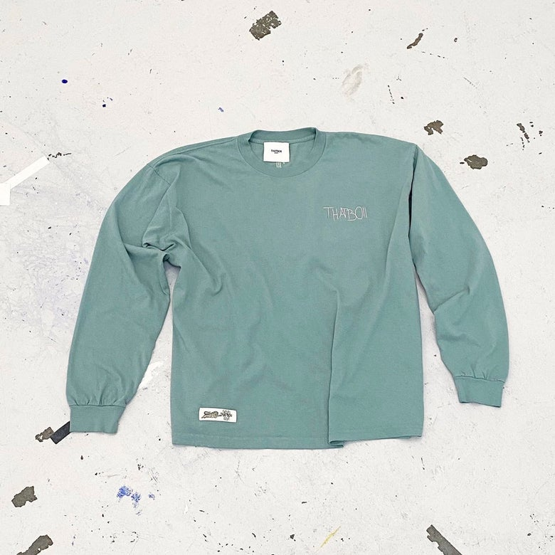 Image of THATBOII - classic long sleeve mint