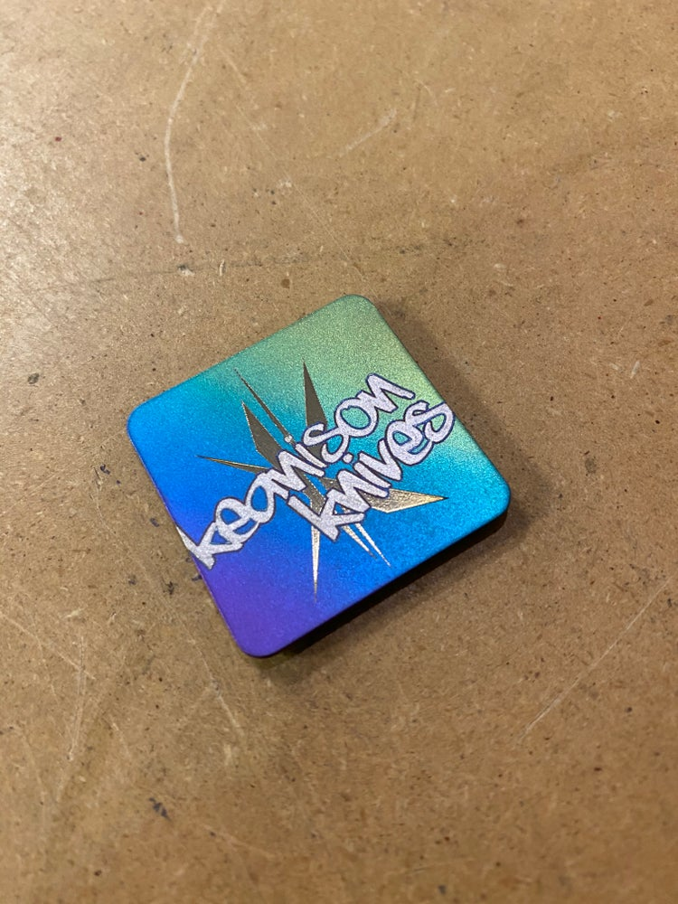 Image of Anodized Titanium Ranger Patch