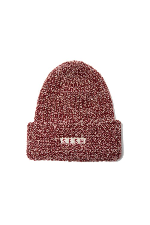 Image of SIMPLESESH Chunky Embroidered Beanie