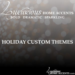 Image of Luxurious Home Accents 2020 Holiday Custom Decorating Ideas
