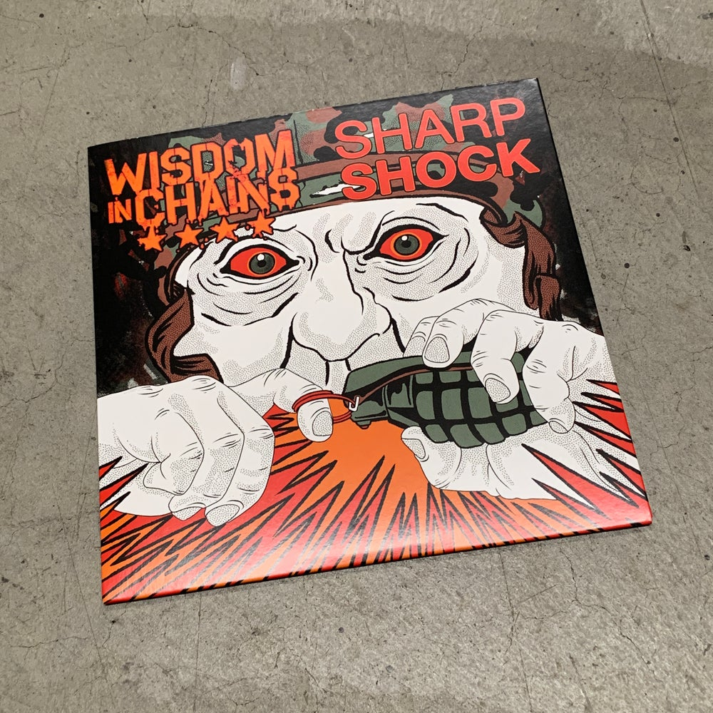 "Image of WISDOM IN CHAINS  7"" SPLIT"
