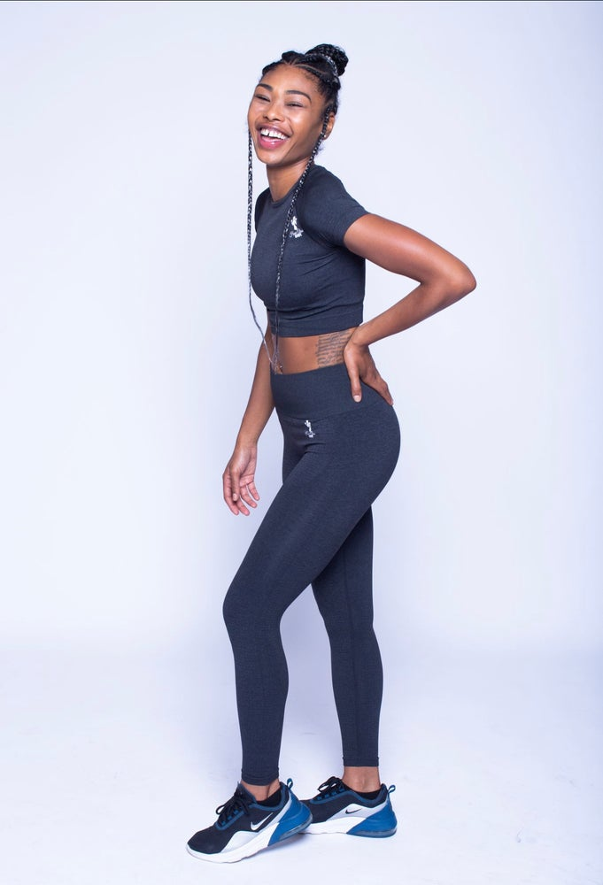 Image of Blackberry - Seamless Leggings