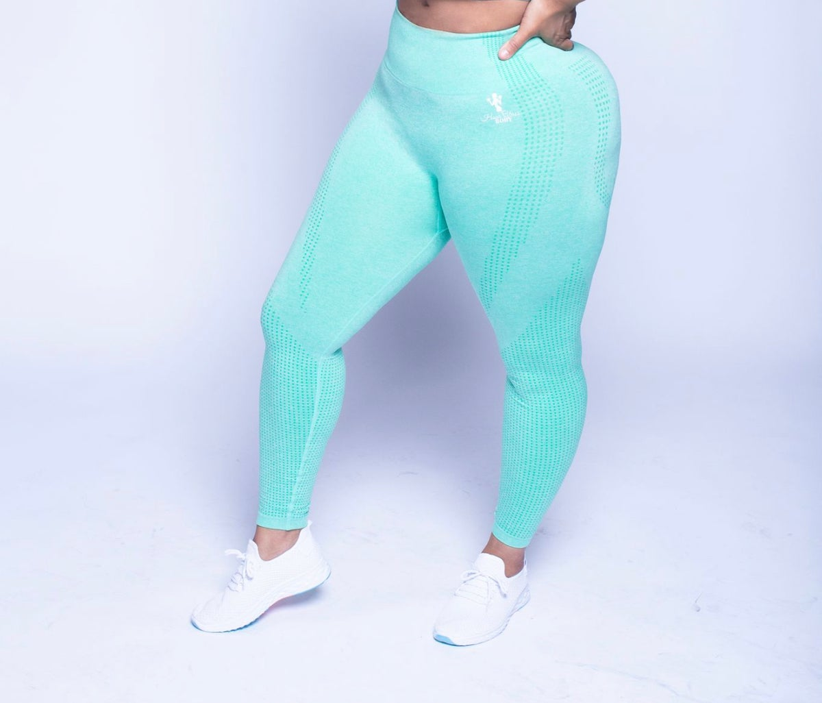 Image of Mint Majesty - Seamless Leggings