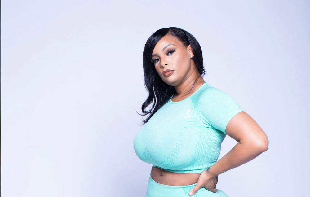 Image of Mint Majesty - Seamless Short Sleeve Crop