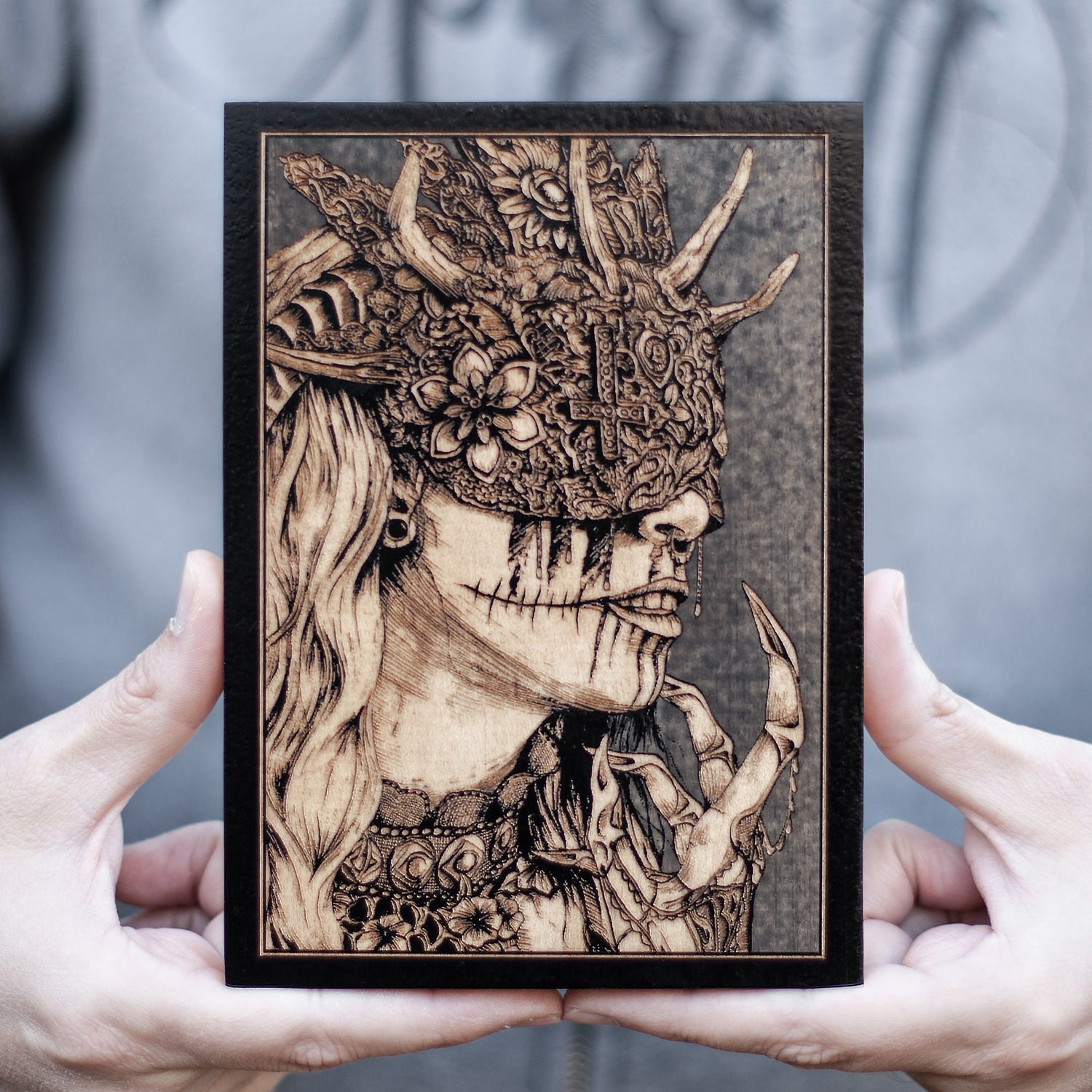 Image of The Lady of Ruin Maple Mini Variant