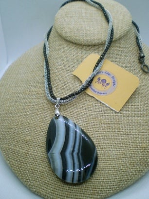 Image of Banded Agate Necklace