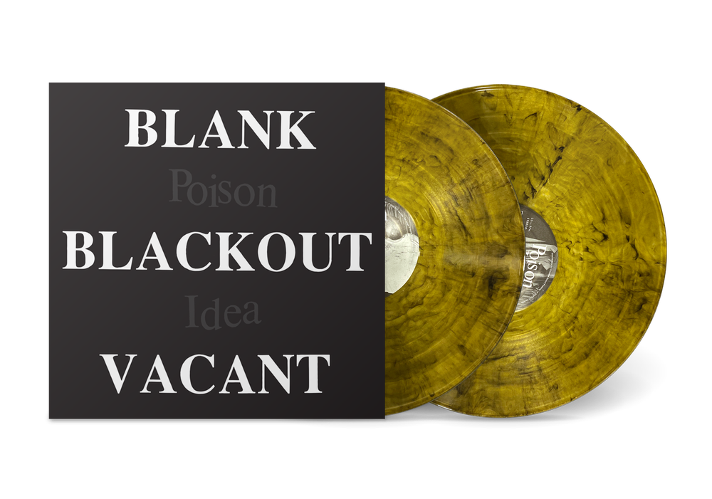 "Image of POISON IDEA - ""Blank Blackout Vacant"" 2xLP w/Poster (LTD. COLOR VINYL)"