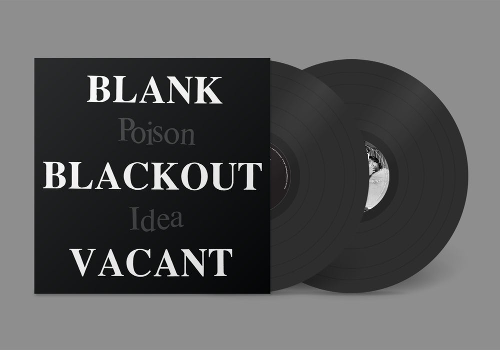 "Image of POISON IDEA - ""Blank Blackout Vacant"" 2xLP w/Poster"