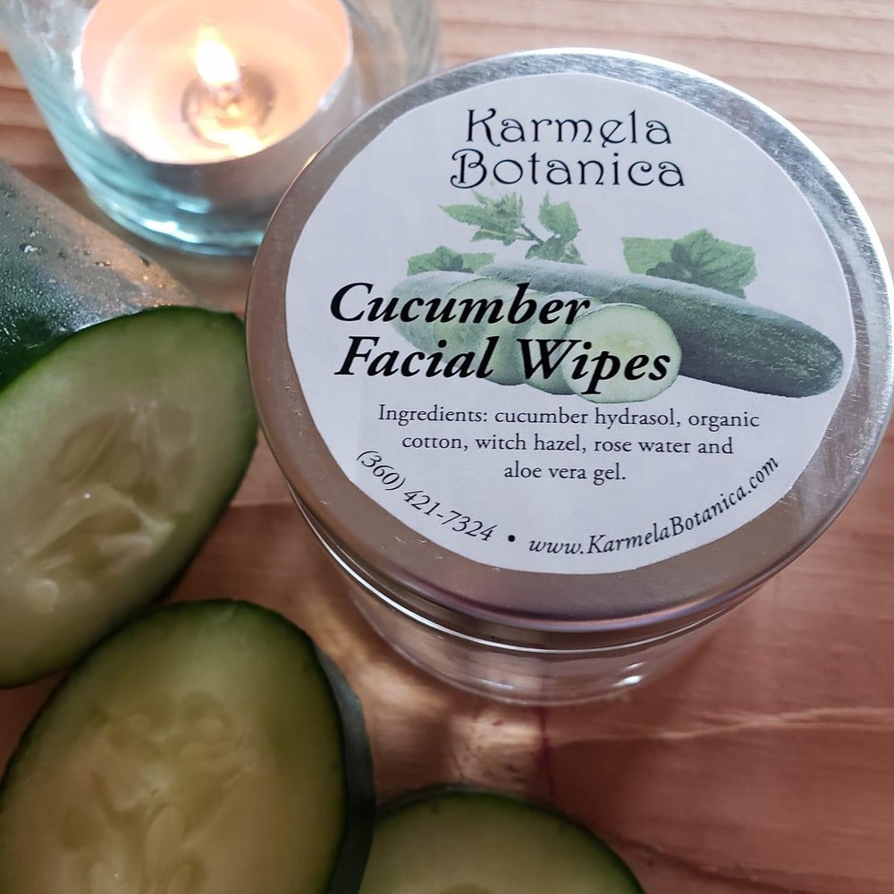 Image of Cucumber Facial Wipes