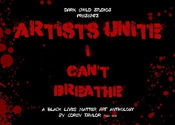"""Image of ARTISTS UNITE: A Black Lives Matter Art Anthology """"SOFTCOVER"""" (68 pages full color)"""