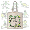 TDR Records - Recycle - Tote