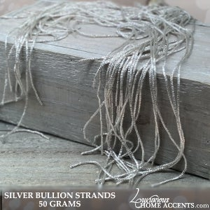 Image of Holiday Decorating Fine Silver Bullion Strands